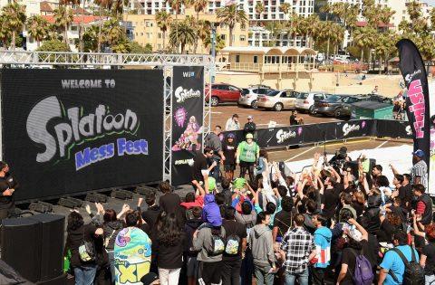 Nintendo Celebrates the Launch of Splatoon at the Santa Monica Pier