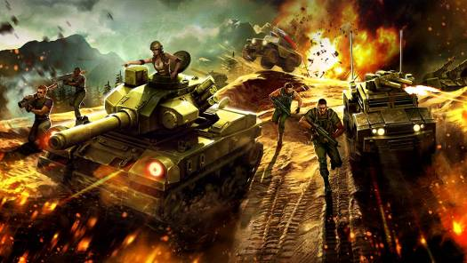 Victory Command New Military MOBA Announced
