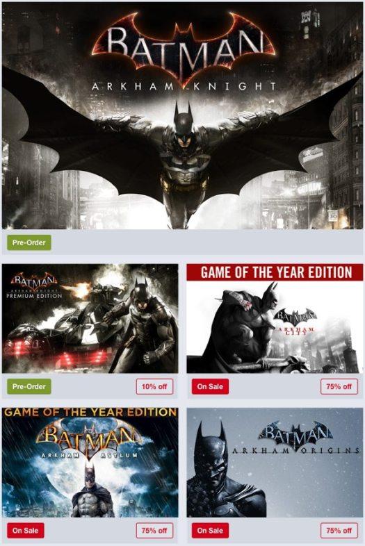 Humble Store Batman Weekend Sale