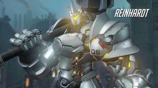 Overwatch Reinhardt Gameplay Preview by Blizzard