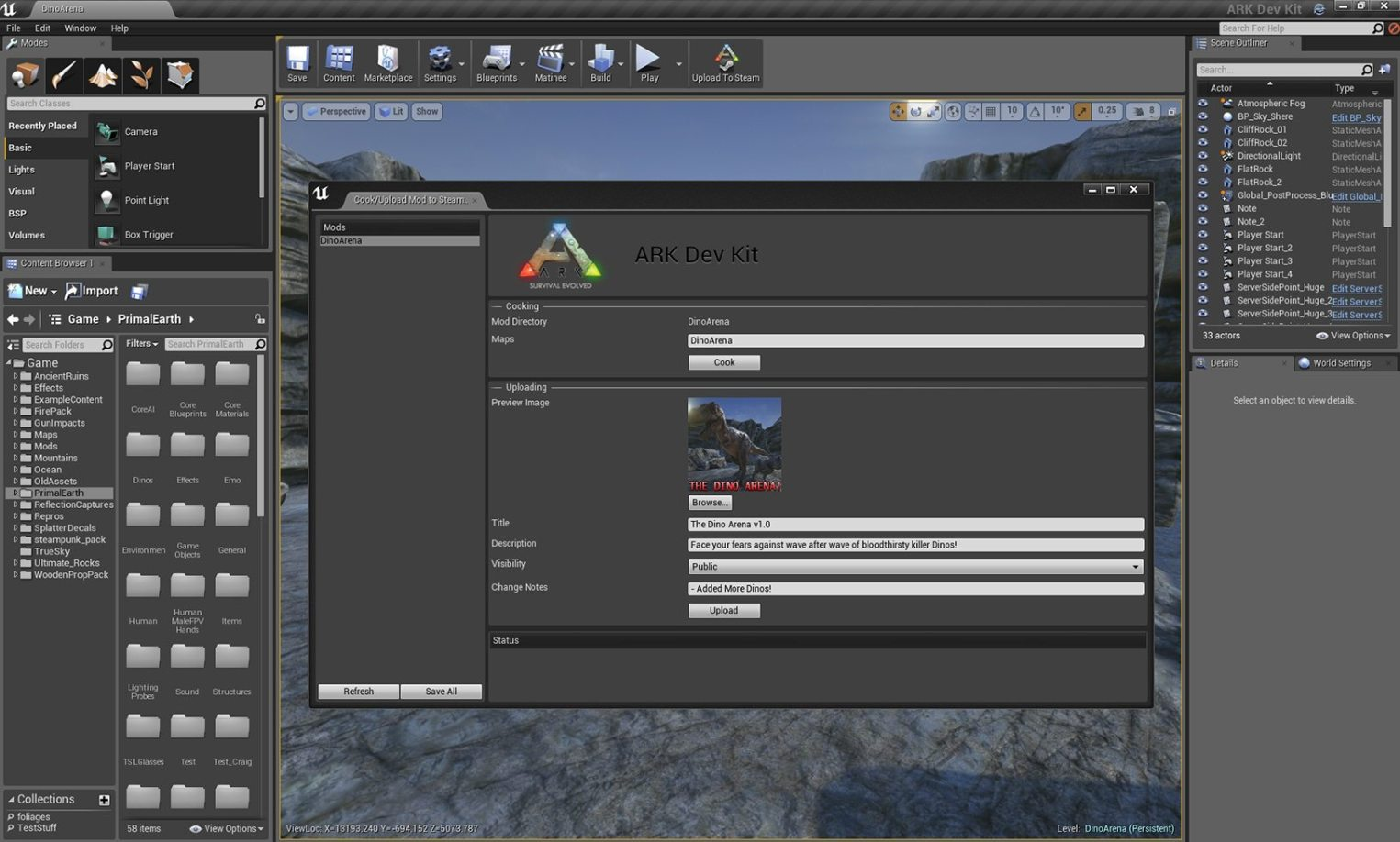 ARK: Survival Evolved Now Open to Unreal Engine 4 Modding - Gaming