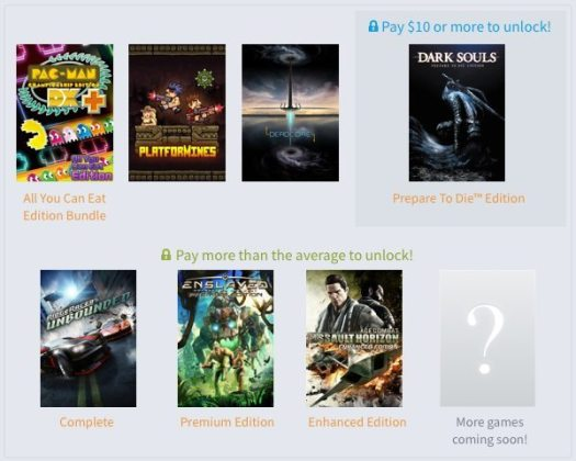 Humble BANDAI NAMCO Bundle Gaming Cypher 2