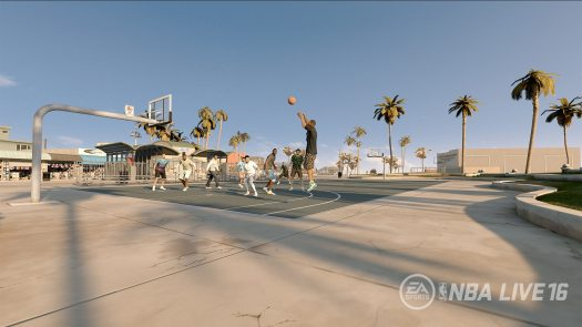 Rise Together In NBA LIVE 16 Pro-Am