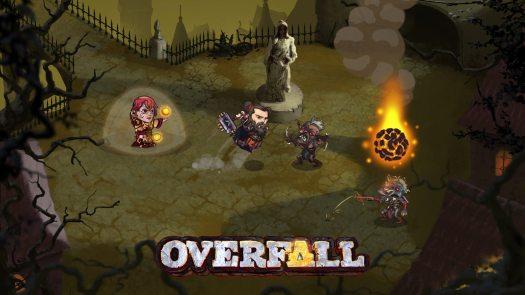 Help Support OVERFALL on Kickstarter and Steam Greenlight