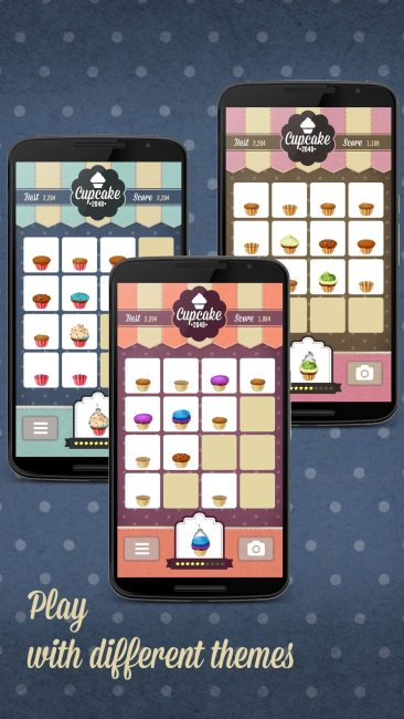 Cupcake 2048 Launches Next Week for Mobile