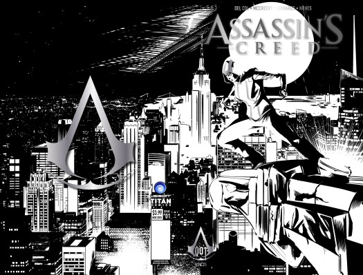 Assassin's Creed Comic Exclusive New York Comic-Con Cover, Events and Preview Art