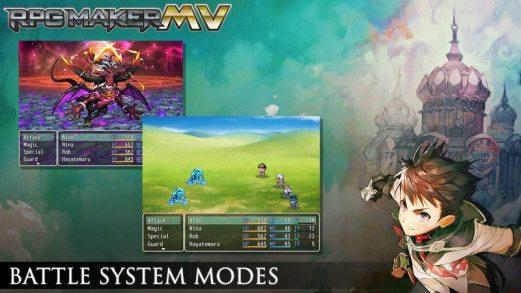 RPG Maker MV 2 Battle Systems