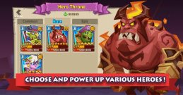 4-CHOOSE AND POWER UP VARIOUS HEROES