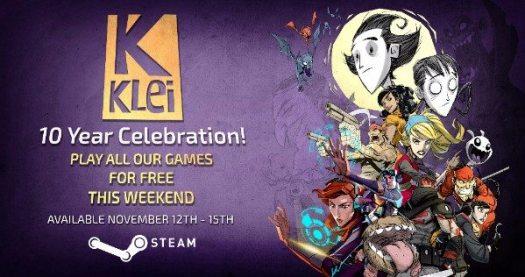 Steam Weekend Sale Celebrates 10 Years of Klei
