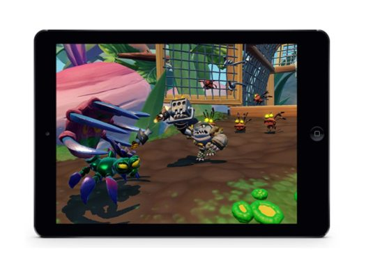 Skylanders SuperChargers Delivers Real-Time Online Multiplayer between Compatible iPhone, iPod touch, iPad and Apple TV