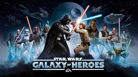 Star Wars: Galaxy of Heroes Now Available for Mobile from EA