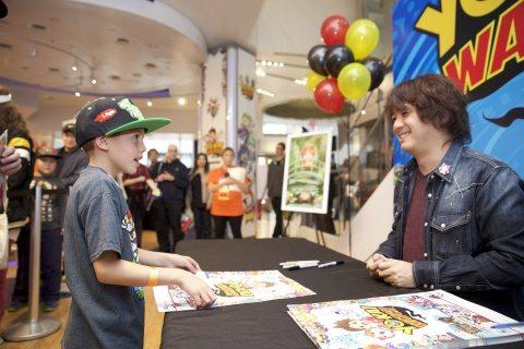 YO-KAI WATCH Launch Event Photos at Nintendo World Store