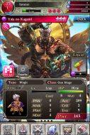 Yata character screen