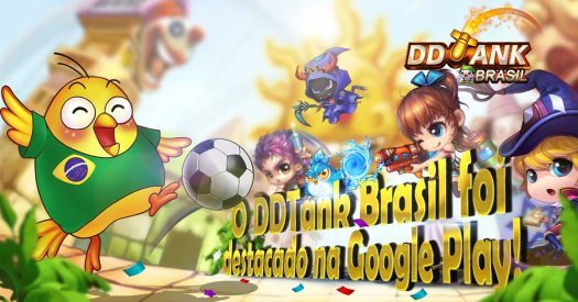 Trajectory Shooter DDTank Reaps Rewards on Google Play Brasil and Released Update