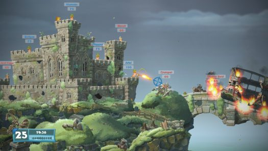 Worms W.M.D. Classic 2D Artillery Warfare Set to Hit Next-Gen Systems at Retail