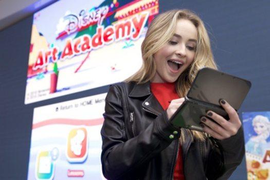 Nintendo Hosts Disney Art Academy Preview Event at Nintendo NY Store with Disney Channel's Sabrina Carpenter