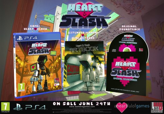 Heart&Slash Launching on PS4 and Xbox One June 24