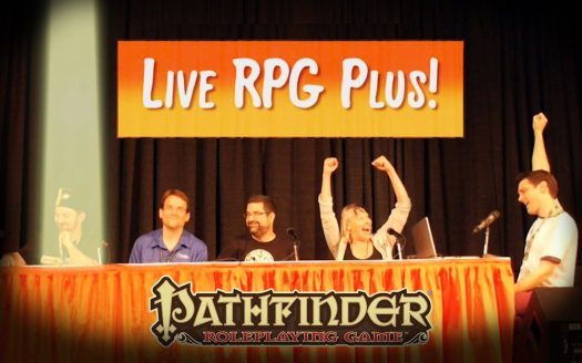All-Star Pathfinder Line-Up Announced for Live RPG Plus at Gen Con