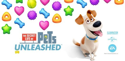 The Secret Life of Pets: Unleashed Now Available for Mobile Devices
