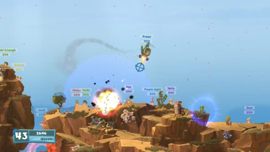 Worms W.M.D New Video Features Over 80 Different Weapons