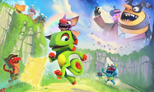 Yooka-Laylee Toybox Released by Team17 to Kickstarter Backers