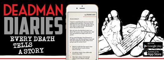 DEADMAN DIARIES Gamebook Thriller Launching July 7