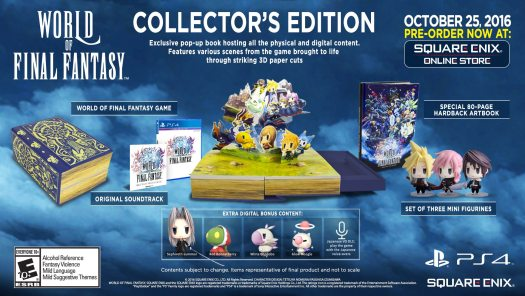 WORLD OF FINAL FANTASY Collector's Edition Revealed