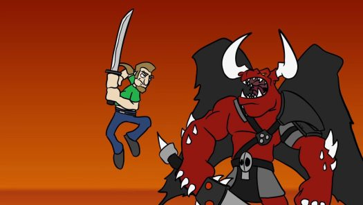 TOM VS. THE ARMIES OF HELL Now Available on Steam