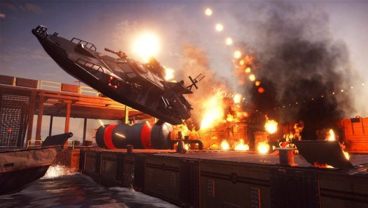 JUST CAUSE 3 Bavarium Sea Heist Now Available for All Players