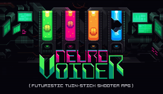 NeuroVoider Twin-Stick Retro RPG Shooter Heading to Steam Aug. 31