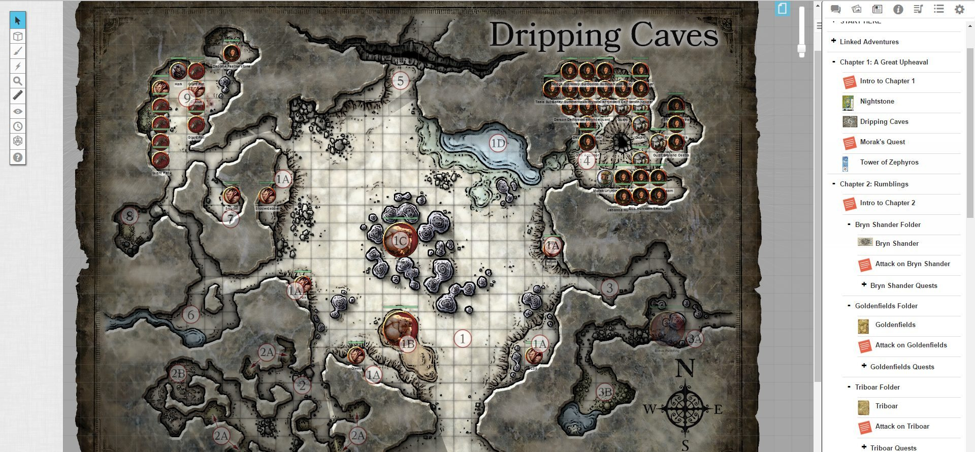 photograph about Storm King's Thunder Printable Maps named Storm Kings Thunder Screenshot 3 - Gaming Cypher