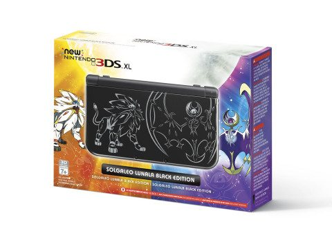 New Nintendo 3DS XL System Inspired by Upcoming Pokémon Games Available in Stores Oct. 28