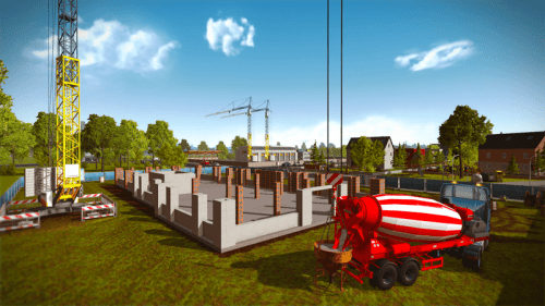 Construction Simulator 2015 New DLC Features New Concrete Mixer and More