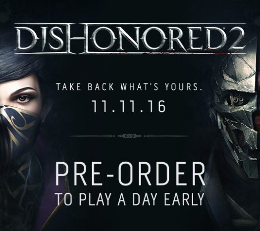 Dishonored 2 Live Action TV Spot Trailer