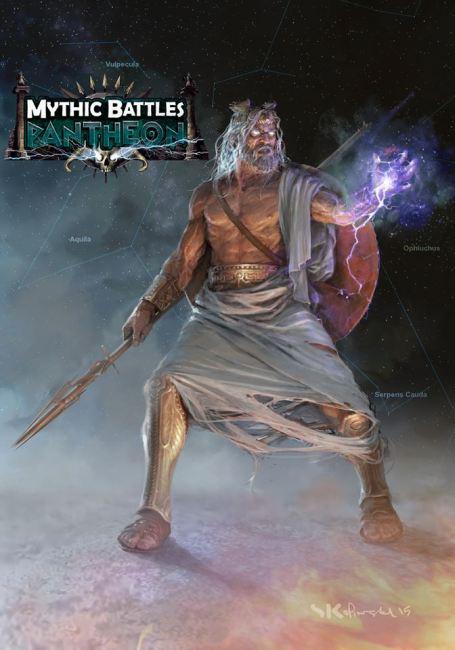 Mythic Battles: Pantheon is Making its Essen-Spiel Debut this Week