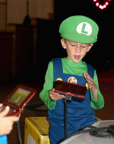 Nintendo Hosts a Mario Party Star Rush Experience at Starlight Children's Foundation's Dream Halloween Event