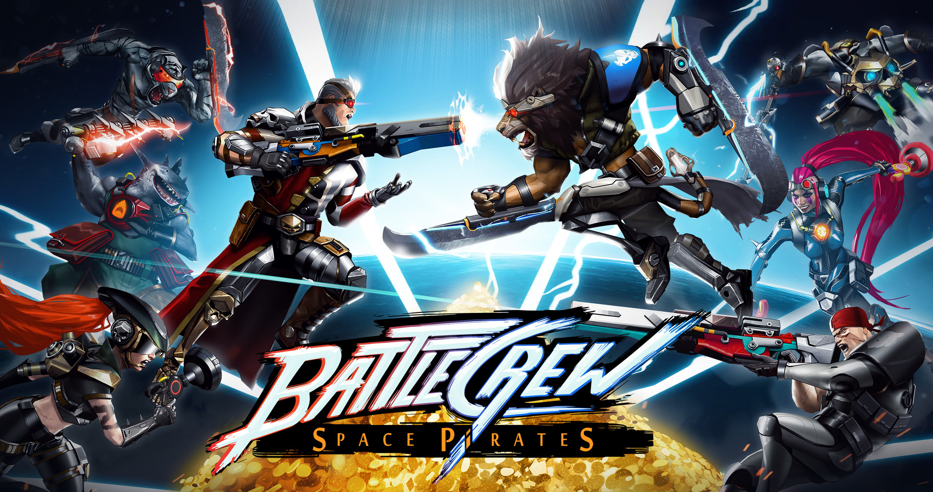 BATTLECREW Space Pirates Now Available on Steam with FREE Version