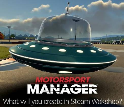 MOTORSPORT MANAGER Steam Workshop Now Available Along with Your Chance to Win £1K