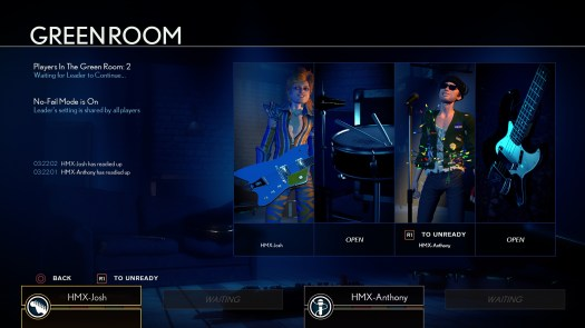 ROCK BAND RIVALS Free Update Adds Online Quickplay