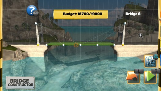 Bridge Constructor Physics-based Puzzle Game Now on PS Vita