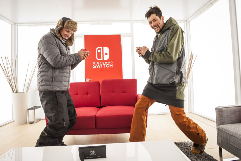 Nintendo Switch Unexpected Places Event in Aspen, Colorado Photos Revealed