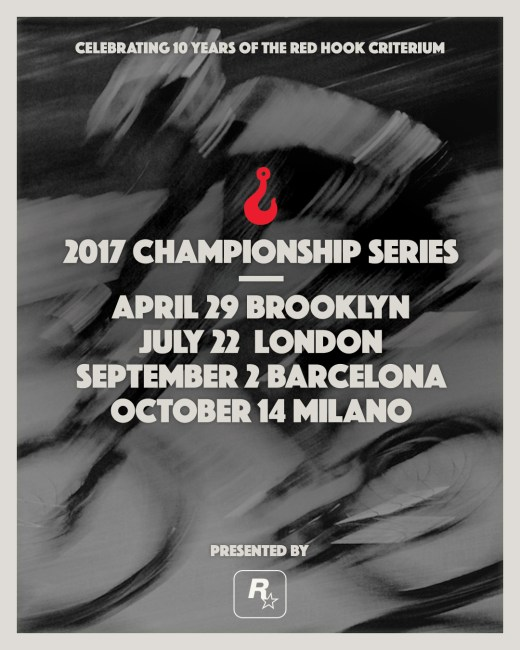 2017 Red Hook Criterium Championship Cycling Series Presented by Rockstar Games