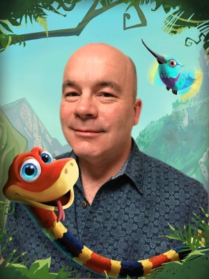 SNAKE PASS Soundtrack Composed by Former Rare Composer David Wise