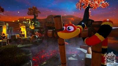 SNAKE PASS Retro-Inspired Collectathon Platformer Launching on PS4, Xbox One, Nintendo Switch and PC on March 28