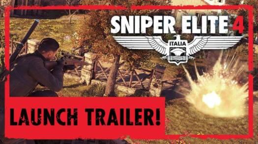 Sniper Elite 4 Launch Trailer Revealed
