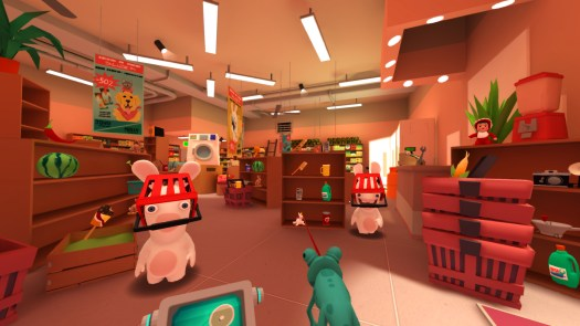 Ubisoft Announces Rabbids VR Experience for Daydream Available in the Spring