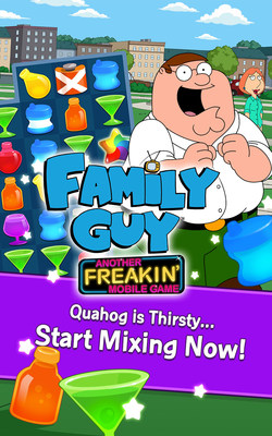 Family Guy: Another Freakin' Mobile Game by Jam City Begins Pre-Registration