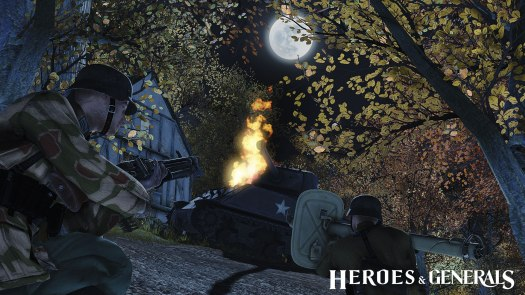 Heroes & Generals New Render Engine Provides Significant Performance Improvements