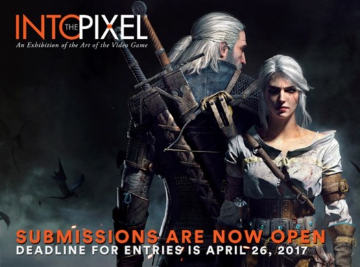 INTO THE PIXEL Video Game Art Exhibit Submissions Now Accepted