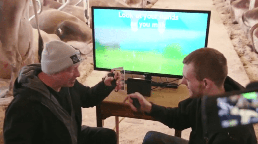 Nintendo Wins Vermont Dairy Farmer Challenge in Cow-Milking Competition